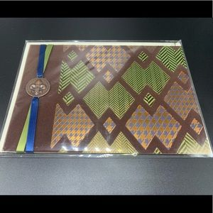 ⚡️5/$30⚡️Papyrus chevron & medallion, FD card